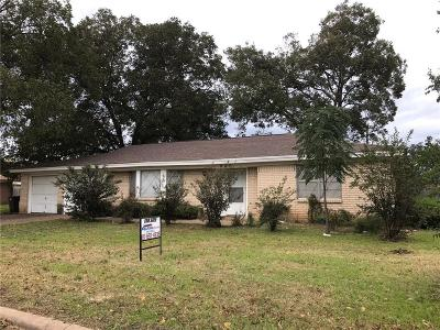 Fort Worth Single Family Home Active Option Contract: 629 Timothy Drive