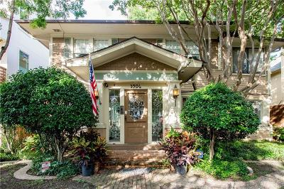 Dallas Single Family Home For Sale: 3906 Holland Avenue