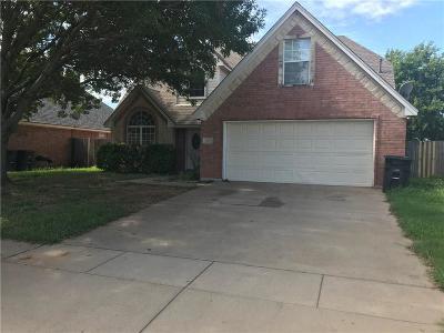Cleburne Single Family Home For Sale: 609 Park Ridge Drive