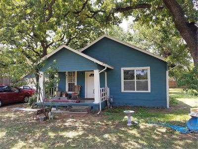 Fort Worth TX Single Family Home For Sale: $120,000