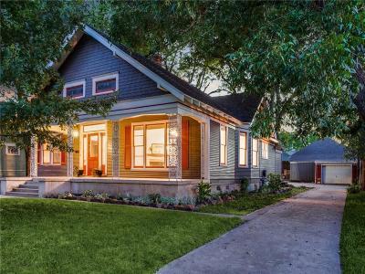 Dallas Single Family Home For Sale: 211 S Windomere Avenue