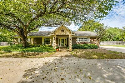 Arlington Single Family Home Active Option Contract: 5304 Hidden Oaks Lane