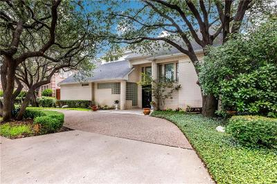 Dallas Single Family Home For Sale: 4712 Holly Tree Drive