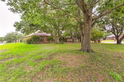 Cleburne Single Family Home Active Option Contract: 1001 Lynn Court