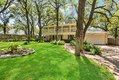 Arlington Single Family Home Active Option Contract: 4500 Kelly Elliott Road