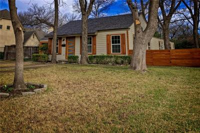 Fort Worth Single Family Home For Sale: 856 N Bailey Avenue