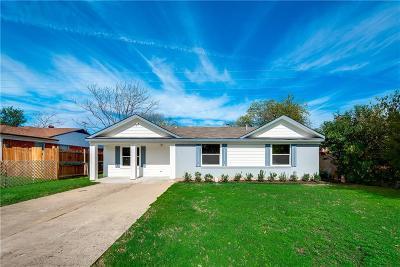 Dallas Single Family Home For Sale: 2717 El Capitan Drive