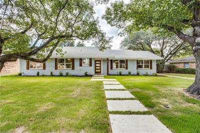 Dallas Single Family Home For Sale: 3312 Whitehall Drive