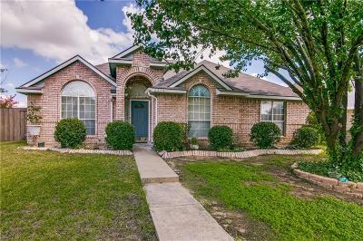 Rowlett Single Family Home For Sale: 6516 Buckeye Drive