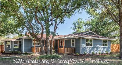 Mckinney Single Family Home For Sale: 3297 Almeta Lane