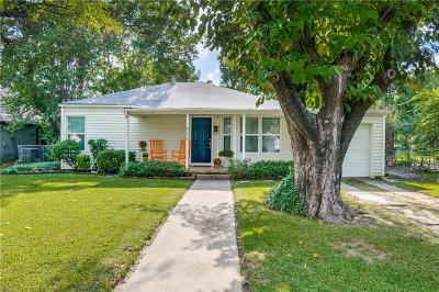 Fort Worth Single Family Home For Sale: 805 Northwood Road