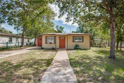 Richland Hills Single Family Home Active Option Contract: 2814 Cedar Park Boulevard