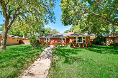 Dallas Single Family Home For Sale: 4939 Clear Creek Road