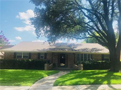 Dallas Single Family Home For Sale: 7754 El Pastel Drive