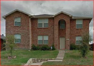 Mesquite Single Family Home For Sale: 2828 Kerrville Drive