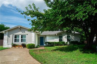 Denton Single Family Home Active Option Contract: 1423 Woodford Court