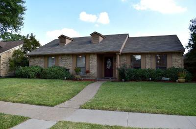 Allen Single Family Home Active Option Contract: 1300 Timberbend Trail