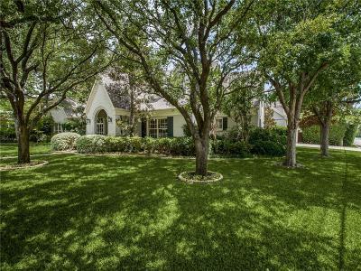 Dallas Single Family Home For Sale: 6706 Stefani Drive