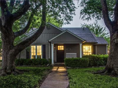 Dallas Single Family Home For Sale: 6275 Revere Place