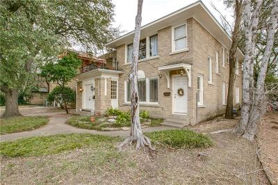 Dallas Multi Family Home For Sale: 4006 Wycliff Avenue