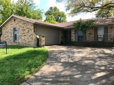 Garland Residential Lease For Lease: 3006 Big Springs Road