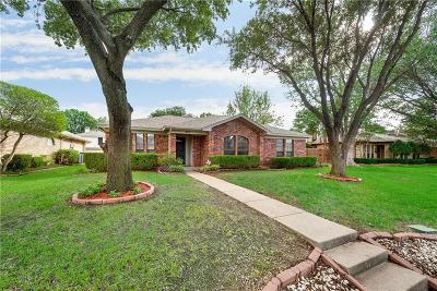 Lewisville Single Family Home Active Option Contract: 808 Blue Oak Drive
