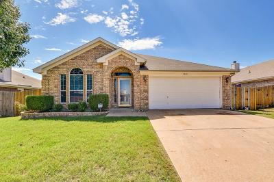 Crowley Single Family Home Active Option Contract: 1369 Meadowbrook Lane