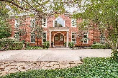 Dallas TX Single Family Home For Sale: $1,499,000