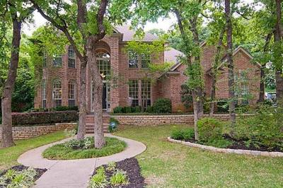 Grapevine Single Family Home Active Option Contract: 3124 Joyce Way