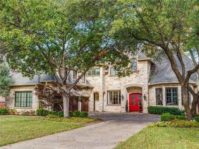 Dallas Single Family Home For Sale: 6729 Aberdeen Avenue