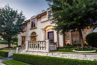 Dallas Single Family Home For Sale: 6905 Forest Glen Drive