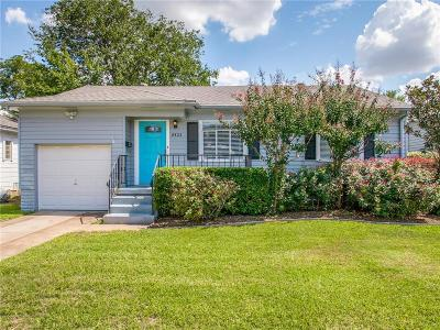 Dallas Single Family Home For Sale: 8422 Ridgelea Street