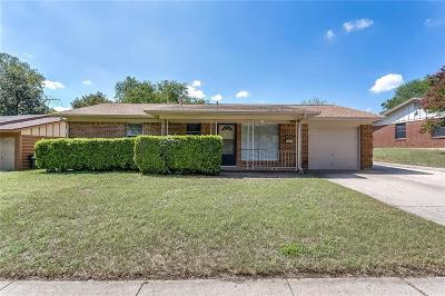 Fort Worth Single Family Home For Sale: 6321 Basswood Drive