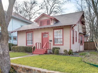 Dallas Single Family Home For Sale: 403 S Winnetka Avenue