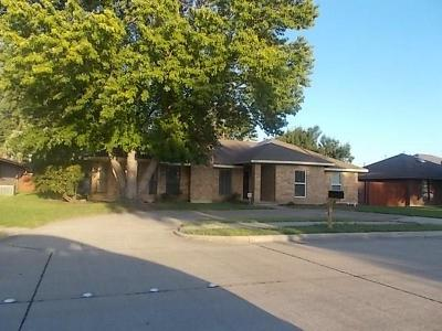 Sachse Single Family Home For Sale: 5012 Ben Davis Drive