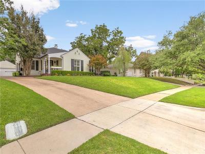 Fort Worth Single Family Home For Sale: 3717 Lenox Drive
