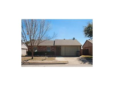 Allen Single Family Home Active Option Contract: 548 Hightrail Drive