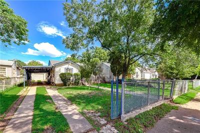 Dallas Single Family Home For Sale: 2435 Burlington Boulevard