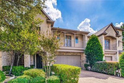 Frisco Townhouse For Sale: 5343 Keswick Drive