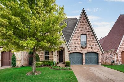 Frisco Single Family Home Active Option Contract: 5627 Foard Drive