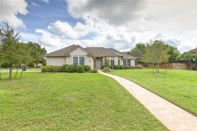 Cleburne Single Family Home Active Option Contract: 1505 Chaucer Drive