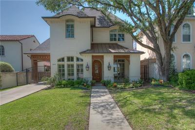 Fort Worth TX Single Family Home For Sale: $1,135,000