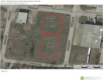 Terrell Commercial Lots & Land For Sale: W Grove