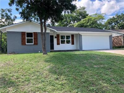 Dallas Single Family Home For Sale: 4638 Bonanza Lane