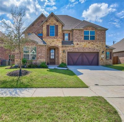 Mckinney Single Family Home For Sale: 10813 Marble Falls Place