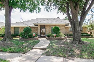 Irving Single Family Home Active Option Contract: 3908 Country Club Drive W