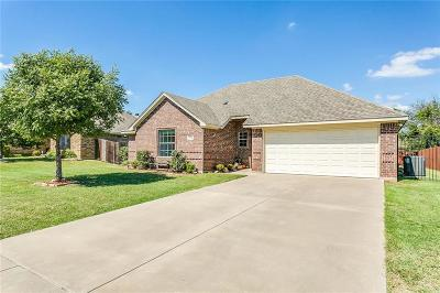 Cleburne Single Family Home Active Option Contract: 1726 Shawnee Drive