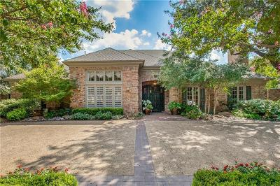 Dallas Single Family Home For Sale: 4908 Sea Pines Drive