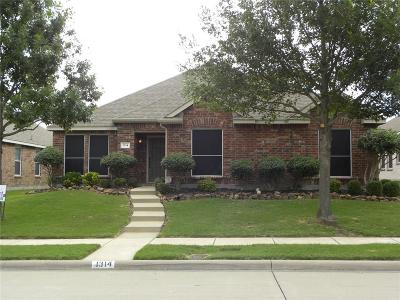 Allen Single Family Home For Sale: 1314 Hazelwood Drive