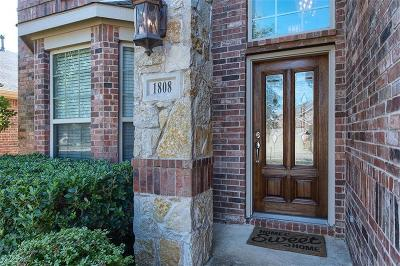 Little Elm Single Family Home For Sale: 1808 Rosson Road